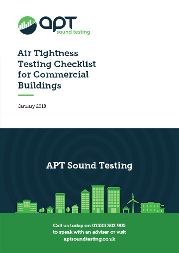 air ightness testing checklist for commercial dwellings