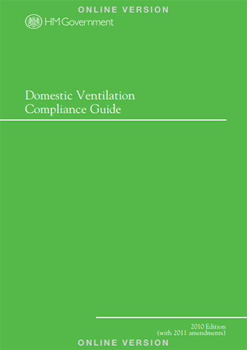 Domestic ventilation compliance guide