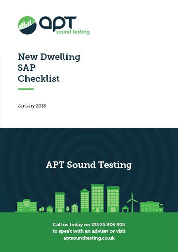 New dwelling sal checklist