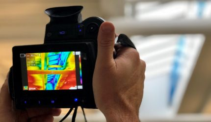 BREEAM thermal-imaging-survey-being-undertaken-commercial-building